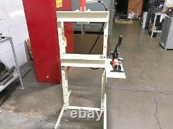 10 Ton Power Team Ram-Pac H-Frame Hydraulic Press Made in USA. 2-Speed Pump