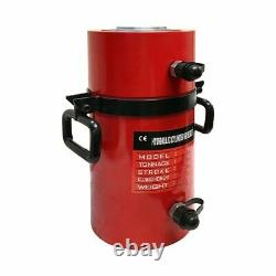100 Ton Hydraulic Cylinder Ram 200mm Stroke 15.35 In Closed Height DOUBLE ACTING