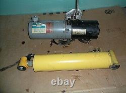 12 volt Monarch Hydraulic Pump with Hydraulic Ram or Cylinder