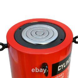 200 Ton Hydraulic Lifting Cylinder 5.90 150mm Stroke Jack Ram Pressure Pump