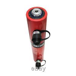 30 Ton 12 Stroke Double Acting Hydraulic Cylinder Lifting Jack Ram 19.25H