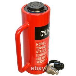 30 Ton Hydraulic Lifting Cylinder 5.90(150mm) Stroke 235mm Height Lift Jack Ram