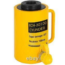 30Ton 4 Hydraulic Cylinder Jack Hollow Single Acting Hydraulic Ram Cylinder