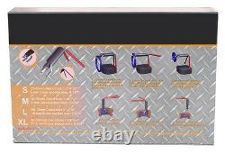 5 pc Hydraulic Cylinder Piston Rod 5 Size Rod U-Cup Installation Tool Kit