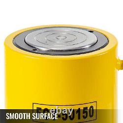 50T 6'' stroke Single Acting Hydraulic Cylinder Jack Ram High Efficiency
