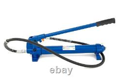 A-HPS10 10 TON Hydraulic Hand Pump Hose, Portable Pressure Cylinder 10T Ram ASTA