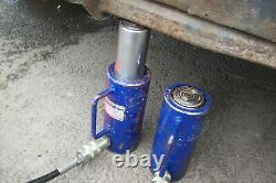Action Ram 20 tonne Hydraulic Cylinder Jack Ram 100mm 20 ton x2