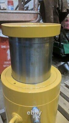 DUDGEON Hydraulic Ram 200 Ton 6 stroke Push Pull Cylinders DUAL ACTION
