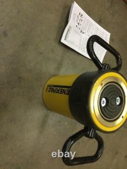 ENERPAC RC-Series RC506 10,000 PSI 50 TON 6 Stroke Hydraulic Ram Cylinder