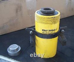 ENERPAC RRH-606 Double Acting Hollow Ram 60-Ton 10K psi with 2 inserts
