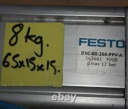Festo Pneumatic Cylinder Actuator Ram DNC-80-250-PPV-A 80 BORE 250 Stroke