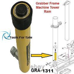Grabber Frame Machine Tower Ram 10 ton