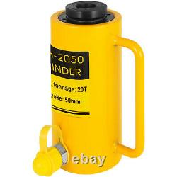 Hydraulic Cylinder Jack 20 tons 2 st Single acting Hollow Ram 10000PSI YG-2050K