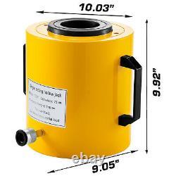 Hydraulic Cylinder Jack Hollow Ram Hydraulic Cylinder 100T 3'' Lifting Cylinder