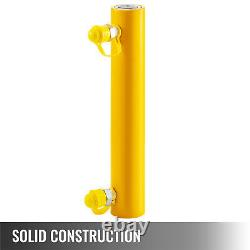 Hydraulic Cylinder Jack Solid Ram 10T 10 Stroke Double Acting Lift Cylinder