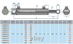 Hydraulic Double Acting Cylinder / Ram / Actuator 32mm Bore x 20mm Rod