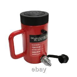 Lock Nut 50-Ton Hydraulic Cylinder 6 Stroke Jack Ram 10 Closed Height