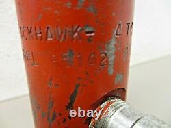 Older Blackhawk Porto-Power 65142 Hydraulic Ram 4 Ton RC-540 1 Threaded Ends