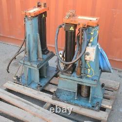Pair of Hydraulic Jack Lifting Ram Cylinder Machine Stroke balancing valve