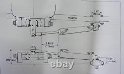 SeaStar HC-5370-3 Boat Hydraulic Steering Cylinder Ram Teleflex SideMnt Outboard
