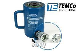 TEMCo HC0016 Hydraulic Cylinder Ram Single Acting 50 TON 4 Inch Stroke