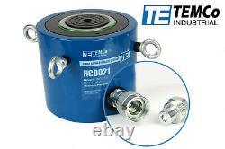 TEMCo HC0021 Hydraulic Cylinder Ram Single Acting 150 TON 2 Inch Stroke