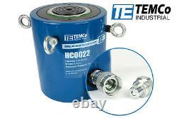 TEMCo HC0022 Hydraulic Cylinder Ram Single Acting 150 TON 4 Inch Stroke