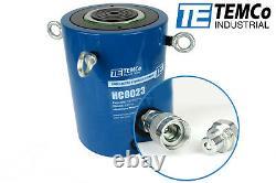 TEMCo HC0023 Hydraulic Cylinder Ram Single Acting 150 TON 6 Inch Stroke