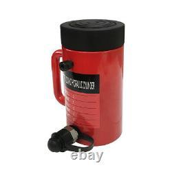20 Ton 6 Accident Cylindre Hydraulique Lifting Jack Ram 10 Fermé Écrou De Verrouillage De Hauteur