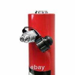 30 Ton Cylindre Hydraulique Ram 200mm Course 15.25 En Hauteur Fermée Double Acting