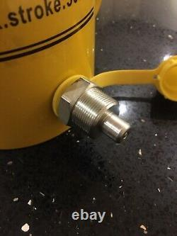 30t Ton Hollow Hydraulic Cylinder Ram 50mm Stroke Puller Jack Uk Seller