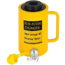 30ton 4 Stroke Ram Hollow Cylindre Hydraulique Jack Lift Cylinder 100mm/4inram