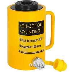 30ton Cylindre De Ram Hollow À Action Unique Cylindre 4 Atteinte Redresseur Hollow Tirage