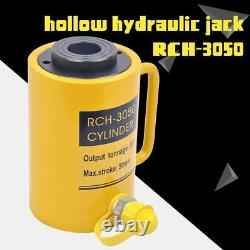 Cylindre À Trous Hydrauliques Jack Ram 30 Tons Industriel