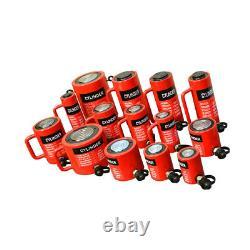 Cylindre De Levage Hydraulique De 100 Tonnes 2 Atteinte 138mm Hauteur Fermée Lift Jack Ram