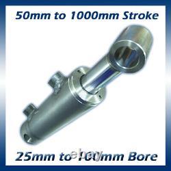 Cylindre Hydraulique À Double Action / Ram / Actionneur 25mm À 100mm Bore Options