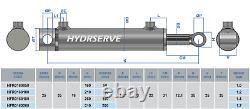 Cylindre Hydraulique À Double Action / Ram / Activateur 25mm Bore X 16mm Rod