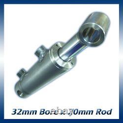 Cylindre Hydraulique À Double Action / Ram / Activateur 32mm Bore X 20mm Rod