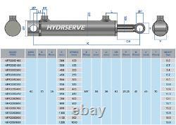 Cylindre Hydraulique À Double Action / Ram / Activateur 60mm Bore X 35mm Rod