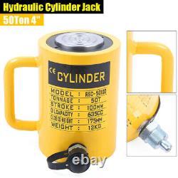 Cylindre Hydraulique De 50 Tonnes Jack À Action Unique 4stroke (100mm) Lifting Jack Ram