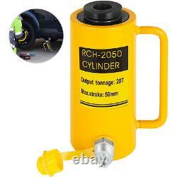 Cylindre Hydraulique Jack 20 Tonnes 2 M Single Action Hollow Ram 10000psi Yg-2050k