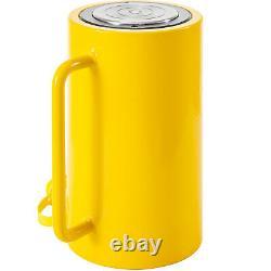 Cylindre Hydraulique Jack 50 Ton 6'' 150mm Atteinte Simple Actionné Ram Lourd