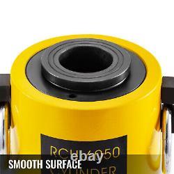 Cylindre Hydraulique Jack 60t 2 50mm Atteinte Simple Actionné Hollow Ram Bon Scellement