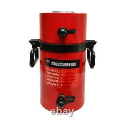 Double Action 100ton Hydraulic Cylinder 12 Stroke Jack Ram 19.35 Hauteur Fermée