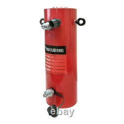 Double Action Cylindre Hydraulique 50-ton 12 Coup Jack Ram 19,35 Hauteur Fermée