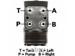 Double Bélier Hydraulique À Termins 2,5 X 1,5 X 10 Cylindres Direction De La Valve Orbitale