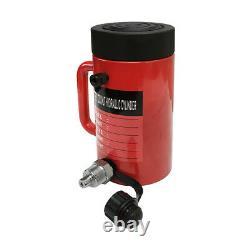 Écrous De Verrouillage Cylindre Hydraulique De 50 Tonnes 6 Coup Jack Ram 10 Hauteur Fermée