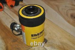 Enerpac Rch-202 Cylindre Hydraulique Hollow Ram 20 Ton 2 Stroke Nouveau