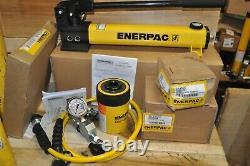 Enerpac Sch202h Cylindre De Pompe À Ram Creux De 20 Tonnes Ga45gc Hc7206c Nouveau