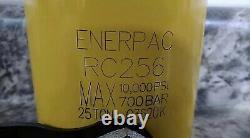 Enerpac Scr-256h Rc256 25 Tonnes De Capacité 10000 Psi Ram Et Pompe Standard